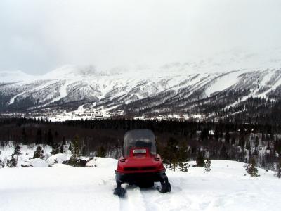 Upplev Kittelfjäll på snöskotrar